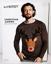 mens christmas jumper new