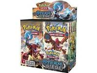 Wanted: any pokemon card booster packs