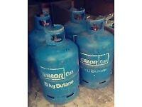 £15 EACH - EMPTY Calor Gas 15kg Butane gas bottle/cylinder - BBQ ,calor gas HEATER, portable heater