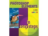 Illustrated Photoshop elements book by Nick Vandome for windows and applemac in full colour