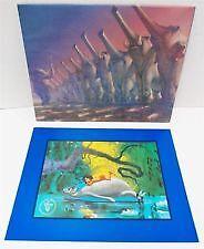 Walt Disney - Commemorative- Lithograph - The Jungle Book