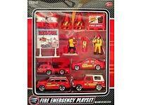 fire emergency play set