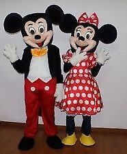 Mickey & Minnie Mouse Mascot HIRE!!