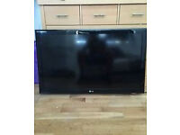 "LG 42LD450 42"" 1080p HD LCD Television With Remote Control and power cable"