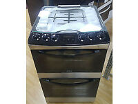 Zanussi gas cooker 60cm double cavity grill / oven b/new