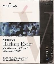 Veritas Backup Exec for Windows NT & 2000 Version 8.6