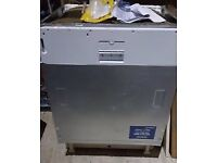 Full size intergrated dishwasher immaculate fully working can deliver with warranty sameday