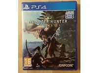 Monster Hunter World PS4. Swap