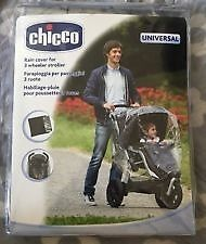 Chicco Rain Cover for 3 Wheeler Stroller - NEW - £10 ovno