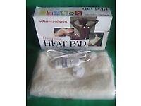 NEW Winterwarm Therapeutic Heat Pad Box & Instructions