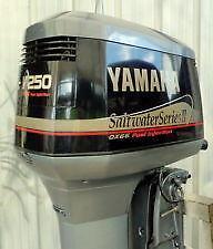 Yamaha 250 outboard ebay for Yamaha 250 boat motor for sale