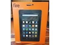 """Kindle fire 7"""" 8 GB (sealed in box)"""