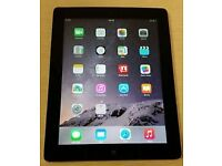 iPad 4th gen 128gb black