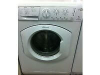 33 Hotpoint WML540 6kg 1400 Spin White A Rated Washing Machine 1 YEAR GUARANTEE FREE DEL N FIT