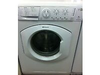 32 Hotpoint WML540 6kg 1400 Spin White A Rated Washing Machine 1 YEAR GUARANTEE FREE DEL N FIT