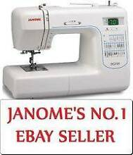 Janome DC2101 Computerized Sewing Machine Manly Area Preview