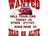 WANTED CARS VANS TRUCKS NO MOT NON RUNNER MOT FAILURE £50 MIN CASH TODAY WOKINGHAM READING BERKSHIRE