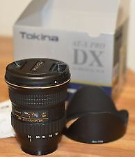 Tokina 12-24mm f4  AT-X Pro DX for Nikon