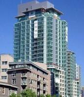 1 Bedroom Plus Den Furnished Apartment in Coal Harbour #052