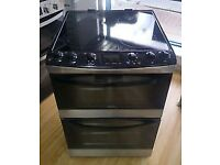 ZANUSSI STAINLESS STEEL FREE STANDING 60cm ELECTRIC COOKER FOR SALE, EXCELLENT CONDITION