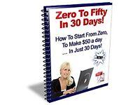 Zero to Fifty in 30 Days!