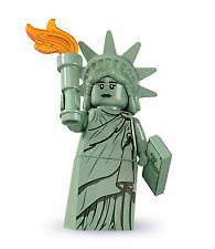 LEGO Series 6 Minifigure Lady Liberty Statue of Liberty New York Minifig 8827