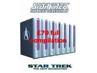Star Trek next generation collectors edition box sets on DVD