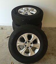 Np300 Navara wheels - NEW Keilor East Moonee Valley Preview