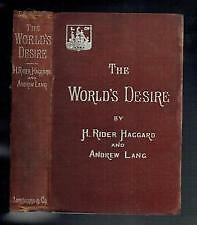 the worles desire    by    h. rider haggard and andrew lang St. John's Newfoundland image 1