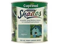 Cuprinol Garden Shades- COLOUR SEAGRASS -2.5LIT X 2