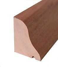 Hardwood Weather Bar Rain Deflector Drip Mould Hardwood Door 750mm SAPELE