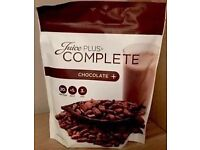 Juice Plus chocolate shake pouches, unopened, four available