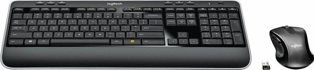 Logitech - MK530 Advanced Wireless Keyboard and Optical Mous