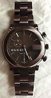 Men's Gucci Chrono Watch - Black with recipet and