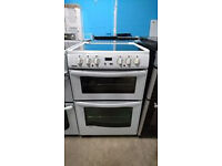 b539 white newworld 60cm ceramic electric cooker comes with warranty can be delivered or collected