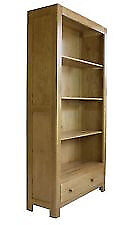 SOLID CHUNKY WOOD RUSTIC OAK TALL BOOKCASE SOLID WOOD BRAND NEWNEW