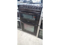 b529 brown tricity bendix 55cm double oven ceramic electric cooker comes with warranty can deliver
