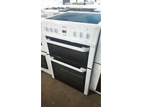 b480 white beko 60cm ceramic electric cooker comes with warranty can be delivered or collected