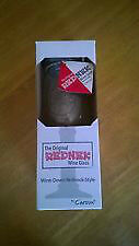 "NEW IN BOX! CARSON ORIGINAL ""REDNEK"" WINE GLASS (MASON JAR + LID"