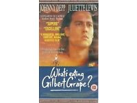 WHAT'S EATING GILBERT GRAPE PAL VHS in MINT CONDITION