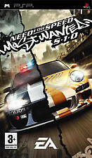 MINT CONDITION COMPLETE PSP NEED FOR SPEED MOST WANTED 5.1.0 PSP