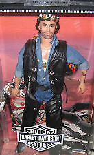 "Barbie  HARLEY-DAVIDSON #2 ""Ken"" with Tattoo ""Born to Ride"""