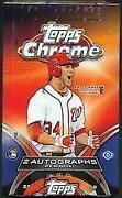 2012 Topps Chrome Baseball