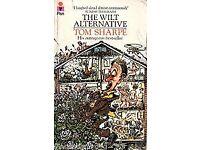 4 Books by Tom Sharpe, Wilt on High x2, Grantchester Gringe, The Wilt Alternative