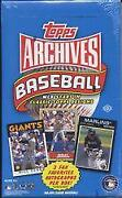 2012 Topps Archives Hobby Box