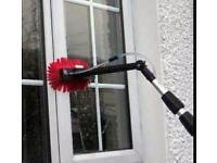 Window cleaning round (with wfp system)