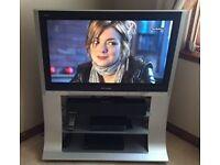 "PANASONIC 37"" PLASMA TV WITH INTEGRATED STAND"
