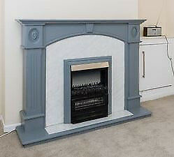 Electric Fire with Surround.Coals with flame effect. Mint condition
