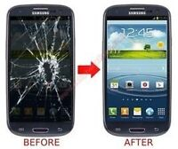 Glass screen repair Samsung,LG,Sony Xperia,HTC, Blackberry