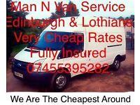 Man & Van, Fully Insured, Cheapest Around